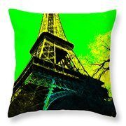Eiffel 20130115v2 Throw Pillow by Wingsdomain Art and Photography