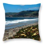El Capitan Beach Throw Pillow by Kathy Yates