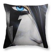 'electric Sin' Throw Pillow by Christian Chapman Art