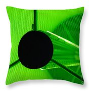 Electromagnetic Radiation Throw Pillow by Charles Dobbs