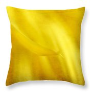 Elegance In Yellow Throw Pillow by Darren Fisher