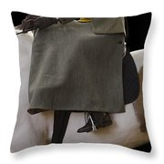 Elegance Throw Pillow by Linsey Williams