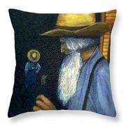 Eli Remembers Throw Pillow by Gail Kirtz