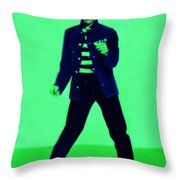 Elvis is In The House 20130215p91 Throw Pillow by Wingsdomain Art and Photography