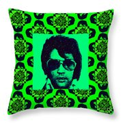 Elvis Presley Window p88 Throw Pillow by Wingsdomain Art and Photography