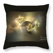 Emani Equals Peace Throw Pillow by Peter R Nicholls