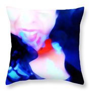Emotional Wipe Out Throw Pillow by Jessica Shelton