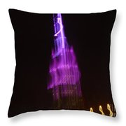 Empire Light Blur Throw Pillow by Paulo Guimaraes