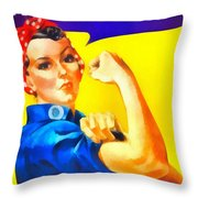 Empowerment Throw Pillow by Dan Sproul