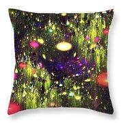Enchanted Meadow Throw Pillow by Anastasiya Malakhova
