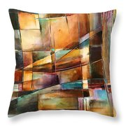 'endless Shift' Throw Pillow by Michael Lang