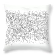 Energy Vortex Throw Pillow by Daina White