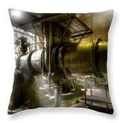 Engine Room Throw Pillow by Heiko Koehrer-Wagner