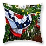 Enjoy The Day Throw Pillow by Ira Shander