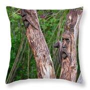 Ents 2 Throw Pillow by Steve Harrington