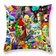 Epic 25  Throw Pillow by Steve  Hester