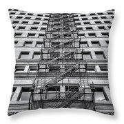 Escape Throw Pillow by Scott Norris