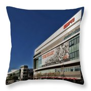 Espn Los Angeles Throw Pillow by Mountain Dreams