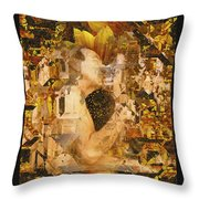 Eternally Yours Throw Pillow by Kurt Van Wagner