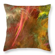 Eveil-4 Throw Pillow by RochVanh