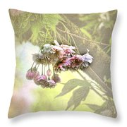 Everyday Blessings Throw Pillow by Bonnie Bruno
