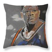 Ewing Throw Pillow by Don Medina