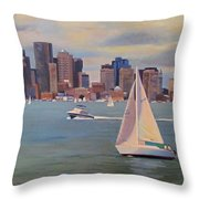Eye On The Sky Throw Pillow by Dianne Panarelli Miller