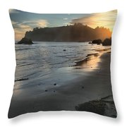 Fading Sun Throw Pillow by Adam Jewell