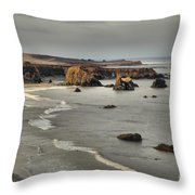 Faint Patches Of Sun Throw Pillow by Adam Jewell
