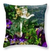 Fairy Dust  Throw Pillow by Steve Taylor