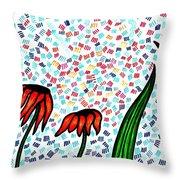 Faith Throw Pillow by Sarah Loft