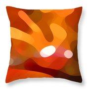 Fall Day Throw Pillow by Amy Vangsgard