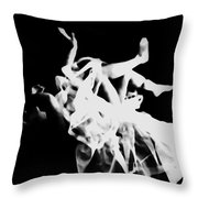 Fall Of Shame Throw Pillow by Jessica Shelton