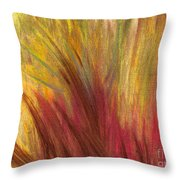 Fall Prairie Grass By Jrr Throw Pillow by First Star Art