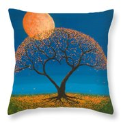 Falling For You Throw Pillow by Jerry McElroy