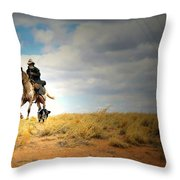 Family Day Throw Pillow by Diana Angstadt