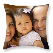 Family Portrait Throw Pillow by Don Hammond
