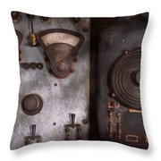 Fantasy - A Tribute To Steampunk Throw Pillow by Mike Savad