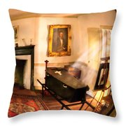 Fantasy - The Funeral  Throw Pillow by Mike Savad