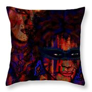 Farewell To Love Throw Pillow by Natalie Holland