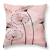 Field Of Flowers Within 3 Throw Pillow by Angelina Vick