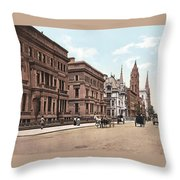 Fifth Avenue Throw Pillow by Unknown