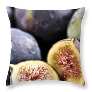 Figs Throw Pillow by Elena Elisseeva
