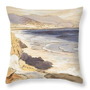Finale Throw Pillow by Edward Lear