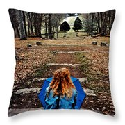 Find Me Throw Pillow by Lydia Holly