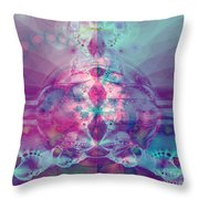 Find Your Inner Strength Throw Pillow by Elizabeth McTaggart