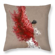 Fire Throw Pillow by Karina Llergo Salto