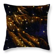 Fireworks As I See Them  4 Throw Pillow by F Leblanc