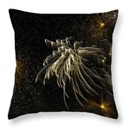 Fireworks As I See Them  Throw Pillow by F Leblanc