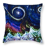 First Star Magic Sky By Jrr Throw Pillow by First Star Art